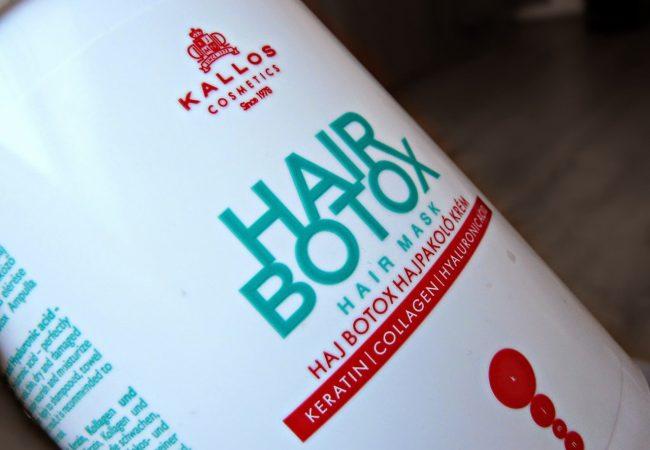 Die beste Methode für schöne Haare! Haarmaske Kallos Hair Botox
