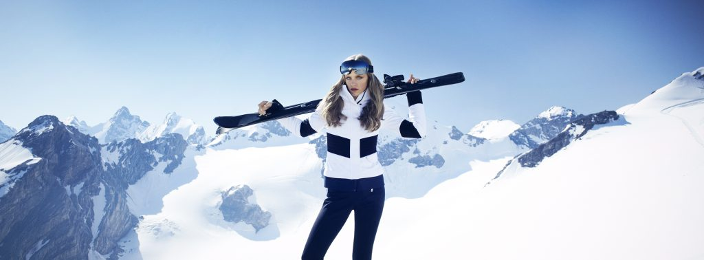 How to maintain the hair while skiing 1