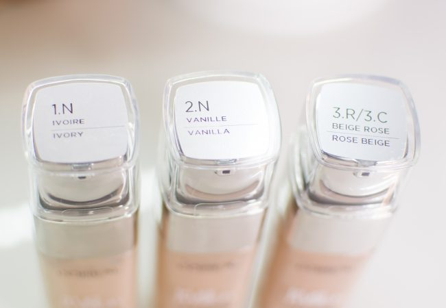 Die neue Foundation Loreal True Match