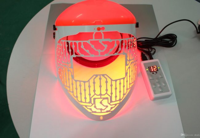 Red LED Mask – verjüngende Maske für Gesicht.