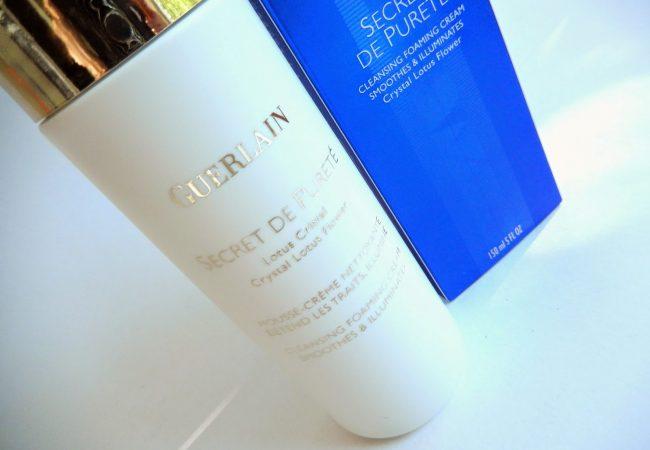Reinigungsschaum für das Gesicht Secret de Purete von Guerlain