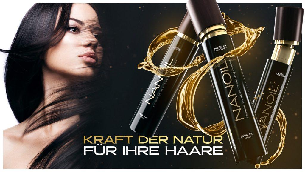 Nanoil - Das revolutionäre Haaröl für jeden Haartyp