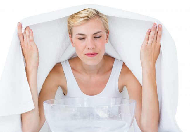 Wie reinigen Sie Ihr Gesicht? Dampfbäder fürs Gesicht Schritt für Schritt